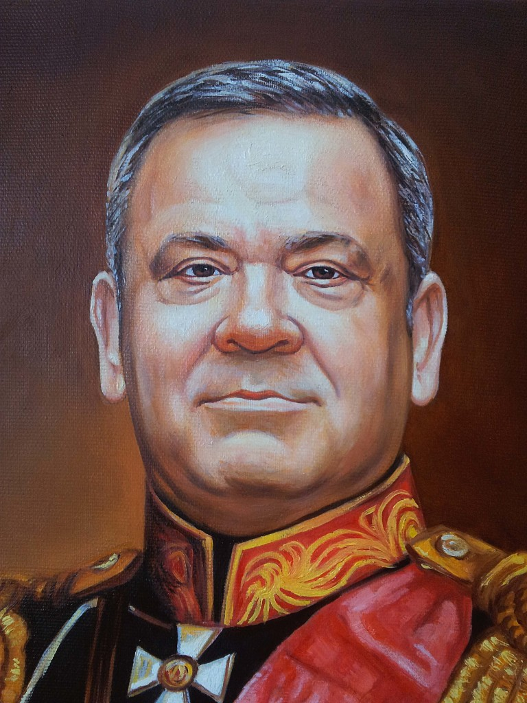 Портрет маслом на холсте в Тамбове