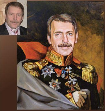 Настоящий портрет маслом на заказ в Тамбове…