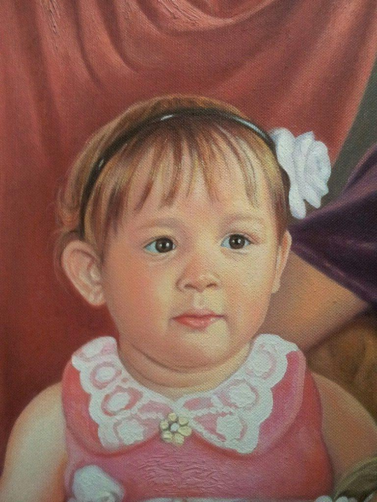 Портрет маслом семейный Тамбов