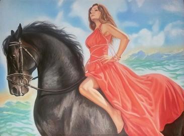 Настоящий портрет маслом на холсте в Тамбове…