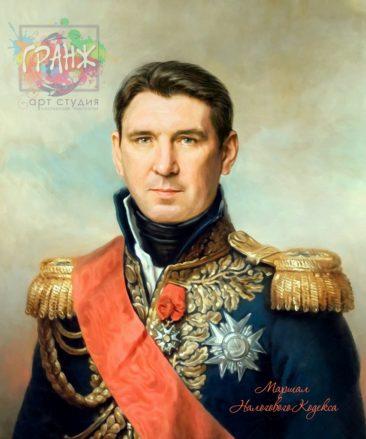 Портрет по фото на холсте в подарок мужчине на 23 февраляТамбов