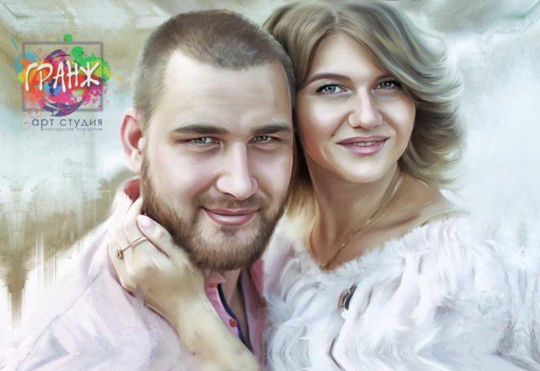Где заказать портрет по фотографии на холсте в Тамбове?