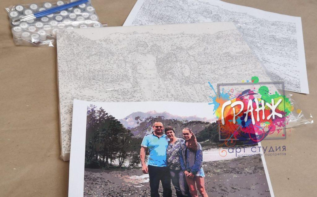картин по номерам на холсте по фото в Тамбове
