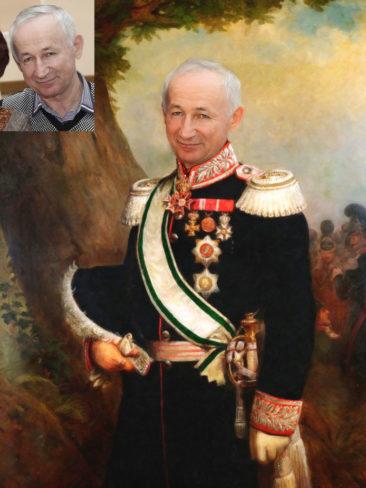 Где заказать исторический портрет по фото на холсте в Тамбове?